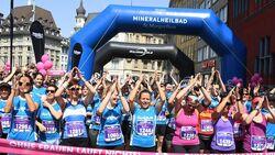 Start beim Basler Frauenlauf