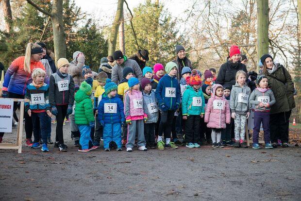 Start der Kinder beim Berliner Nikolauslauf
