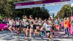 Start des München-Marathon 2016