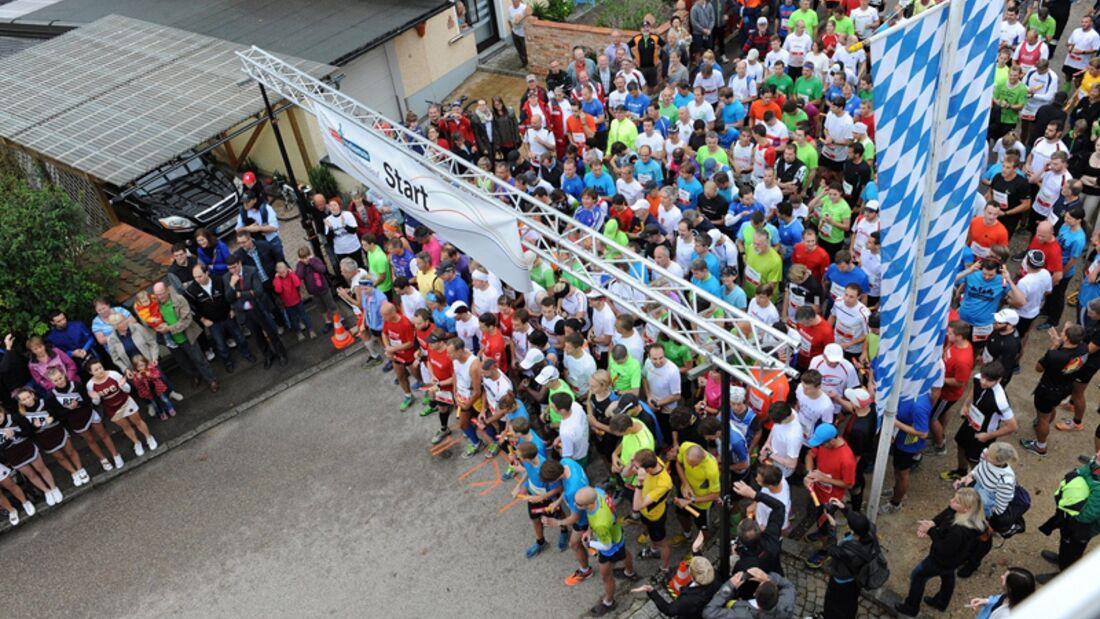 Start des Regensburger Landkreislaufes im Jahr 2014