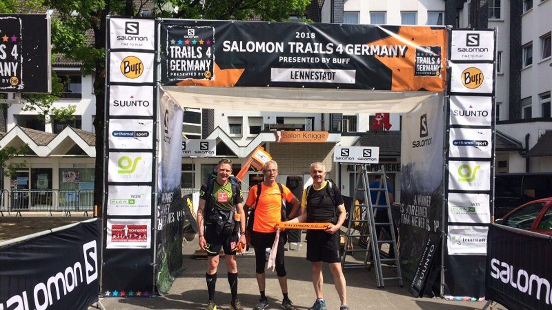 Start und Ziel des Sauerland Trailrun