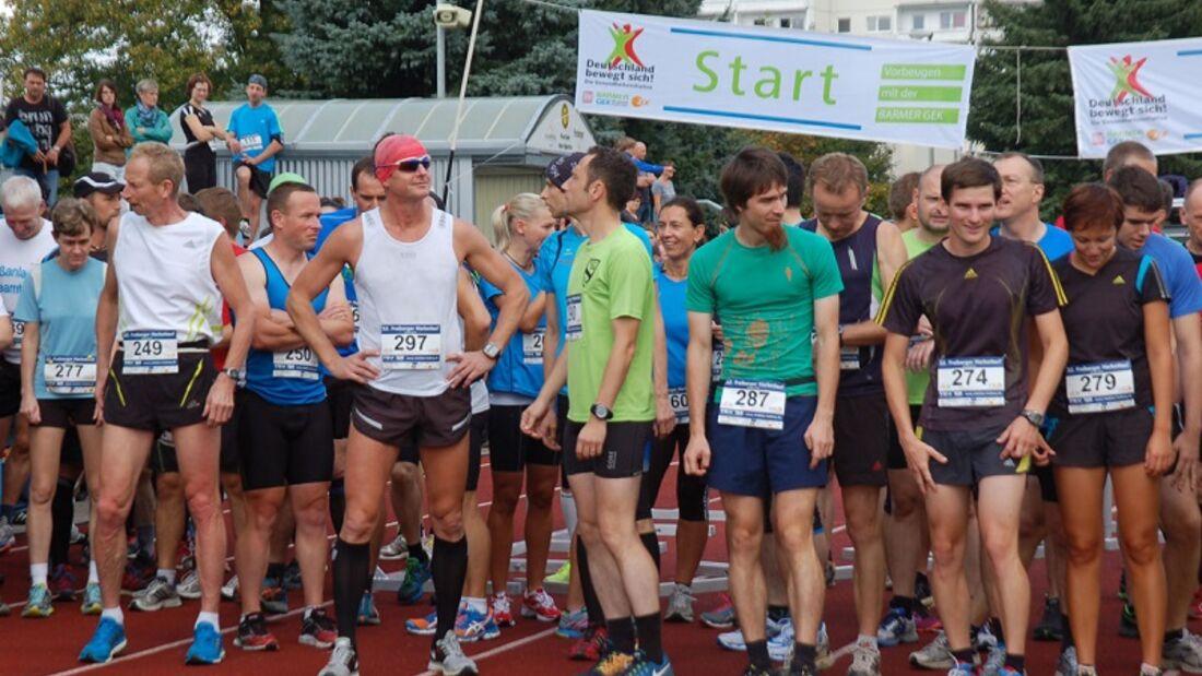 Start zum 32. Freiberger Herbstlauf