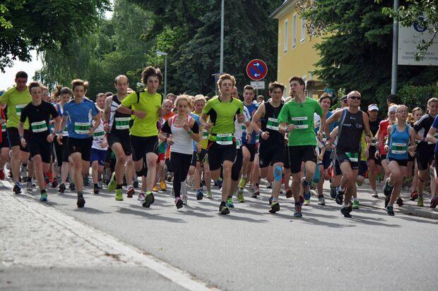Start zum Adelsberglauf in Chemnitz