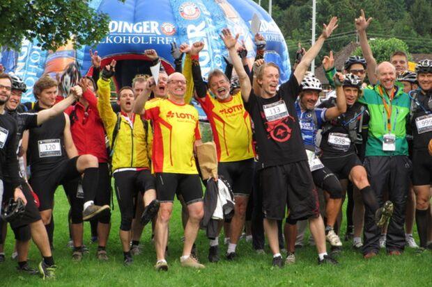 Start zum Adventure Race Schwarzwald