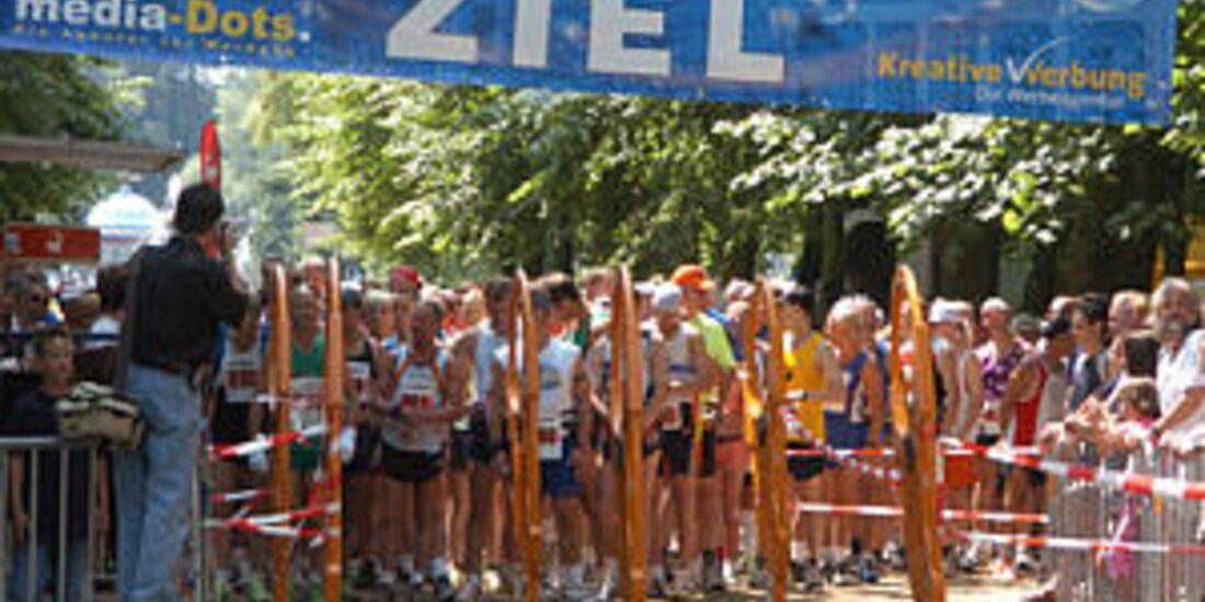 Start zum Bad-Pyrmont-Marathon