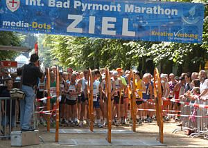 Start zum Bad-Pyrmont-Marathon