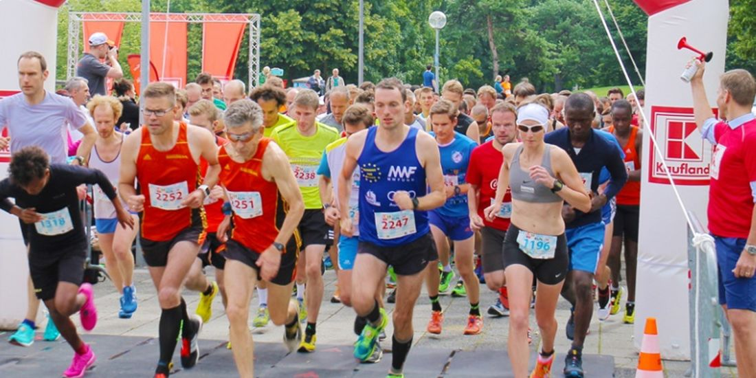 Start zum Bavarian Run in München