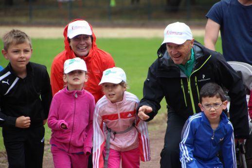 Start zum Berliner Spendenlauf der Deutschen Kinderrheuma-Stiftung Bambini