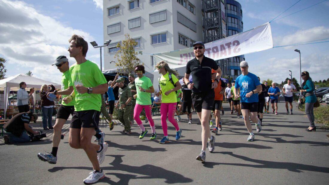 Start zum Bodenheimer Musketiere-Lauf
