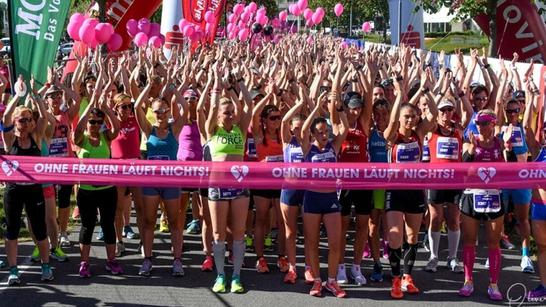 Start zum Bodensee-Frauenlauf