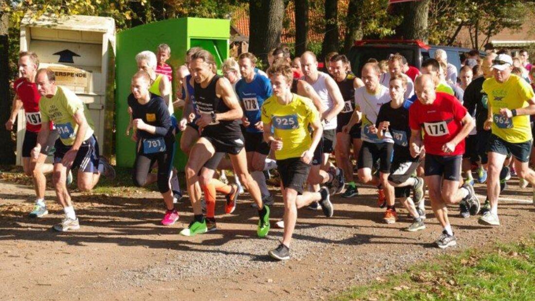 Start zum Boitzer Herbstlauf Walsrode