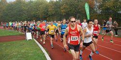 Start zum Bramfelder Halbmarathon.