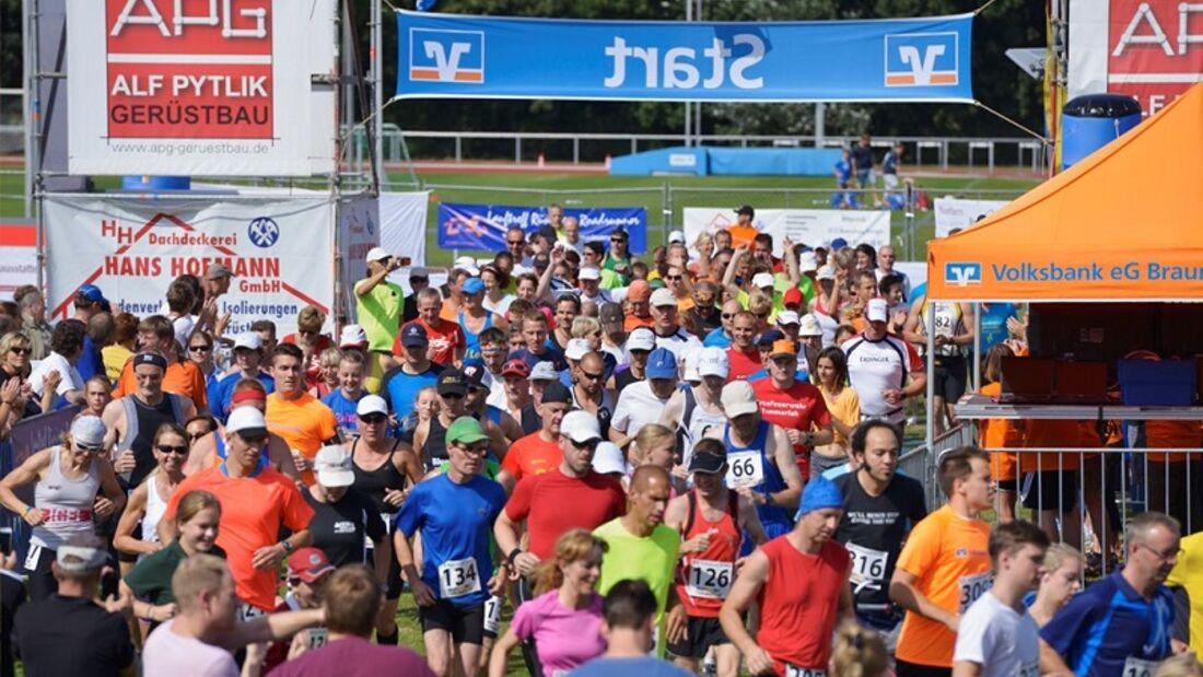 Start zum Braunschweiger 24-Stundenlauf