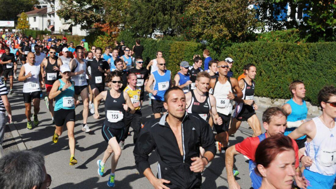 Start zum Bremgartenlauf