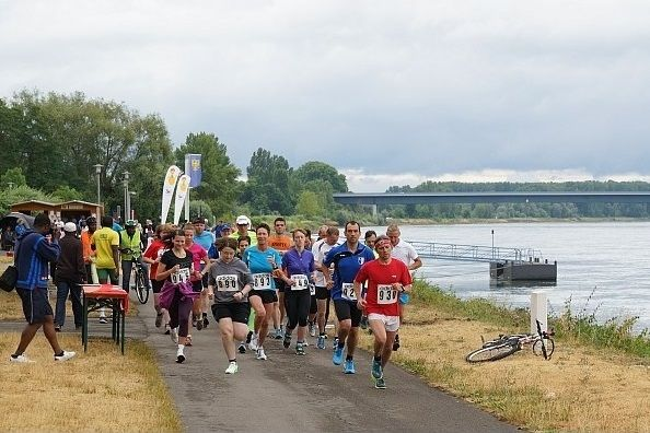 Start zum CCG Rhein-Mini-Marathon