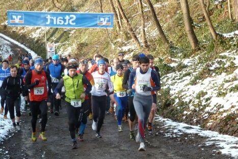 Start zum Crosslauf Meerhardt Extreme bei Gummersbach