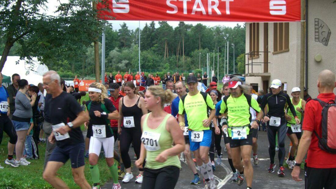Start zum Dettenhausener 24-Stunden-Lauf