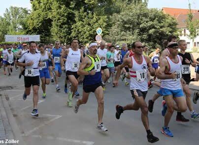 Start zum Dieburger Stadtlauf