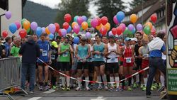 Start zum Donautal-Marathon in Tuttlingen