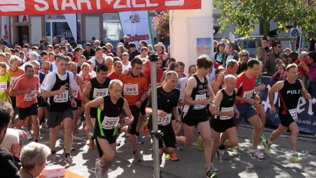 Start zum Ettenheimer Stadtlauf