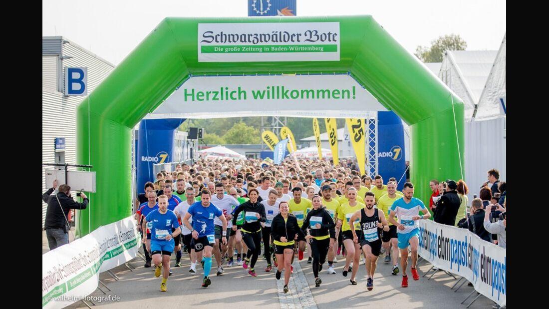 Start zum Firmenlauf in Villingen-Schwenningen