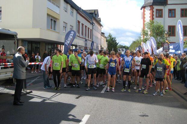 Start zum Hadamarer Stadtlauf