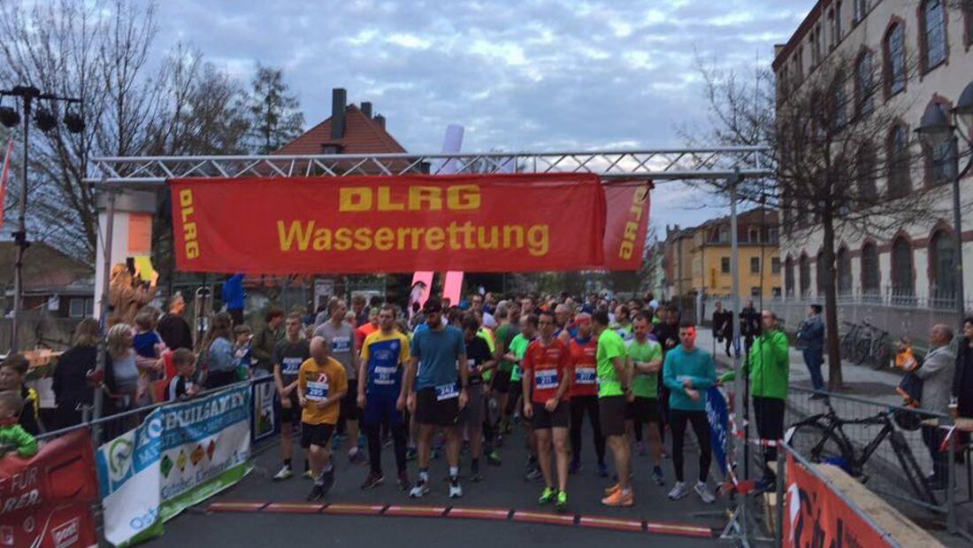 Start zum Heidenauer Citylauf