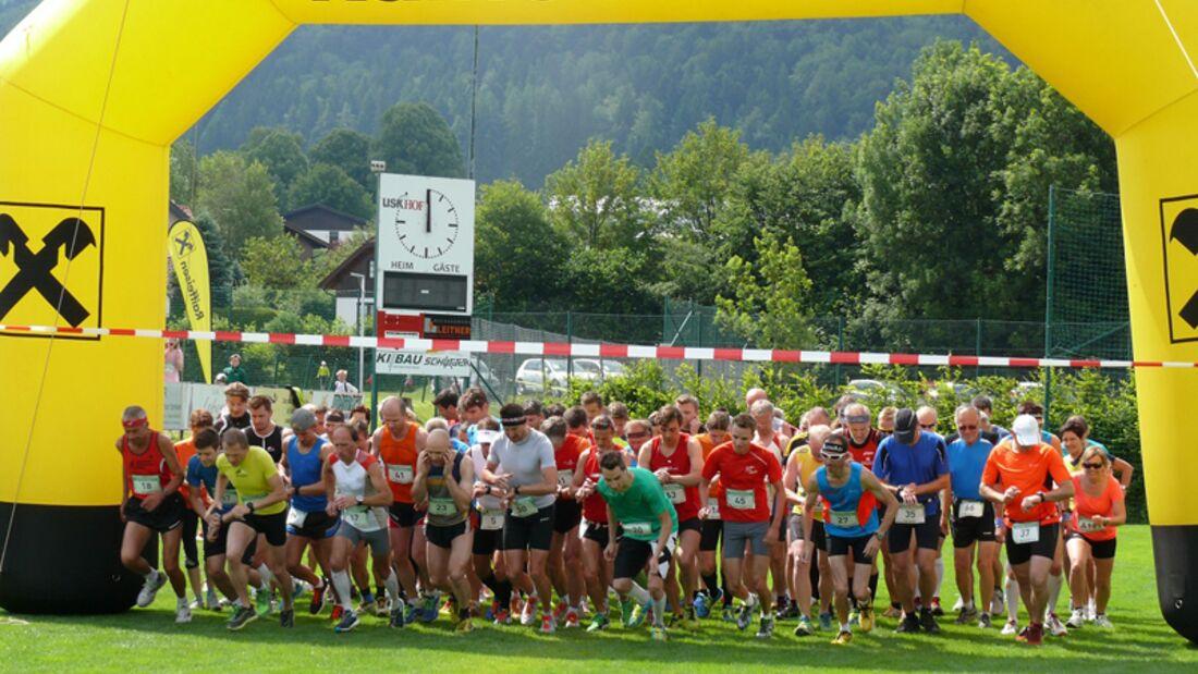 Start zum Hofer Dorflauf