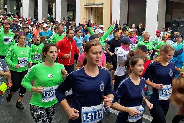 Start zum Ljubljana-Marathon