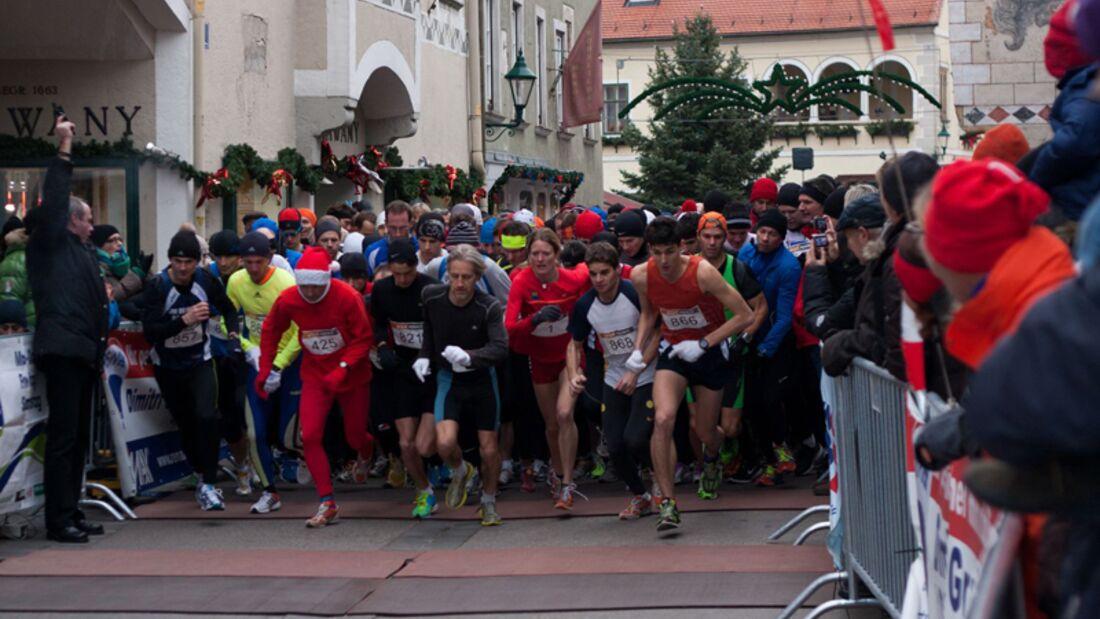Start zum Mödlinger Altstadtadventlauf