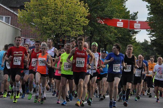 Start zum Münkeboer Festtage-Lauf