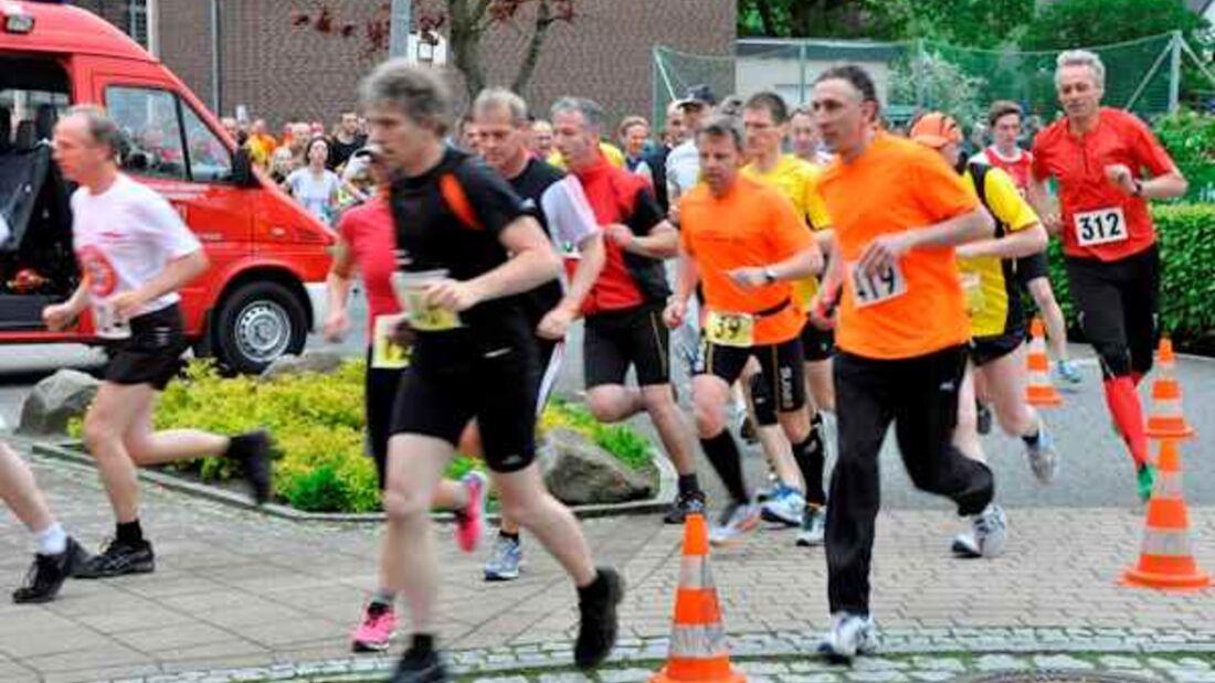Start zum Osnabrücker-Land-Marathon