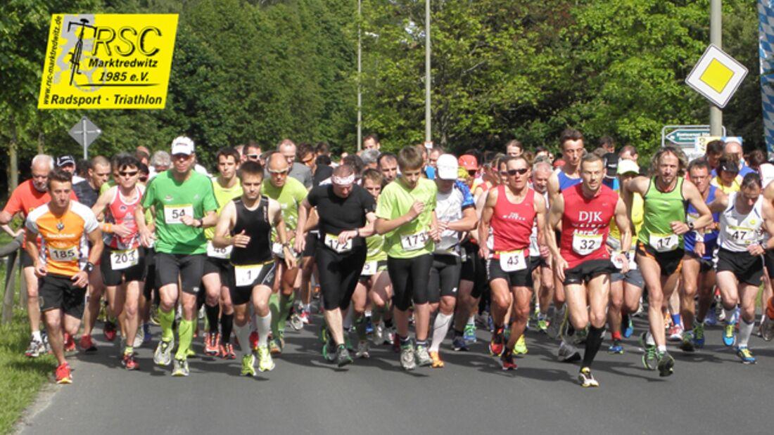 Start zum Rawetzer Halbmarathon in Marktredwitz 2014