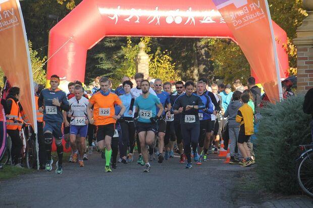 Start zum Ritter-Wormlitz-Lauf in Großräschen