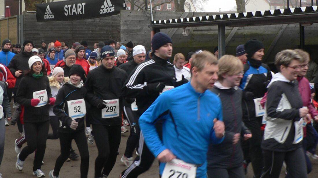 Start zum Rostocker Spendenlauf