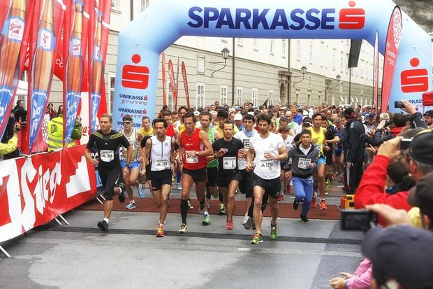 Start zum Salzburger Jedermannlauf 2013