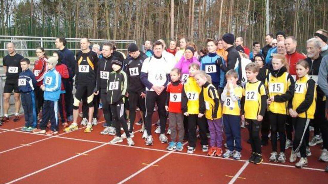 Start zum Silvesterlauf des BSC Fortuna Glienicke