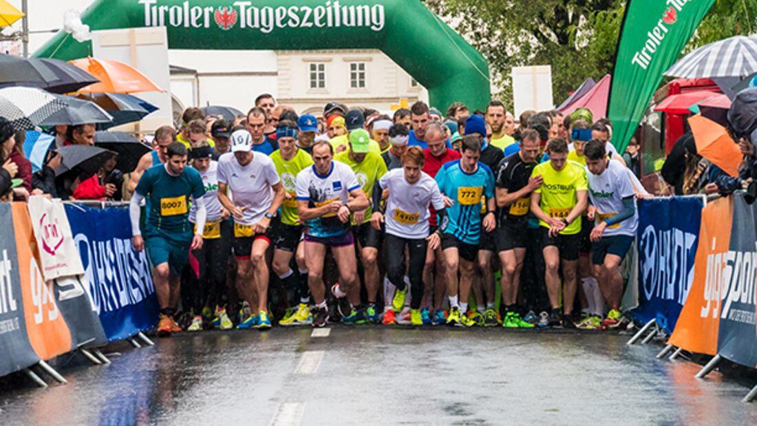 Start zum Tiroler Firmenlauf in Innsbruck