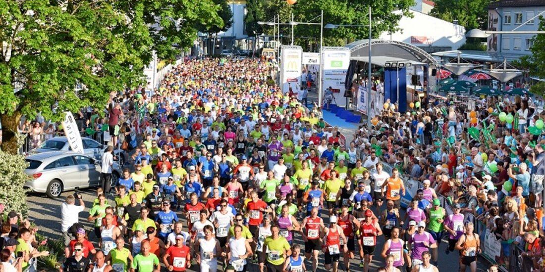 Start zum Traunreuter Stadtlauf