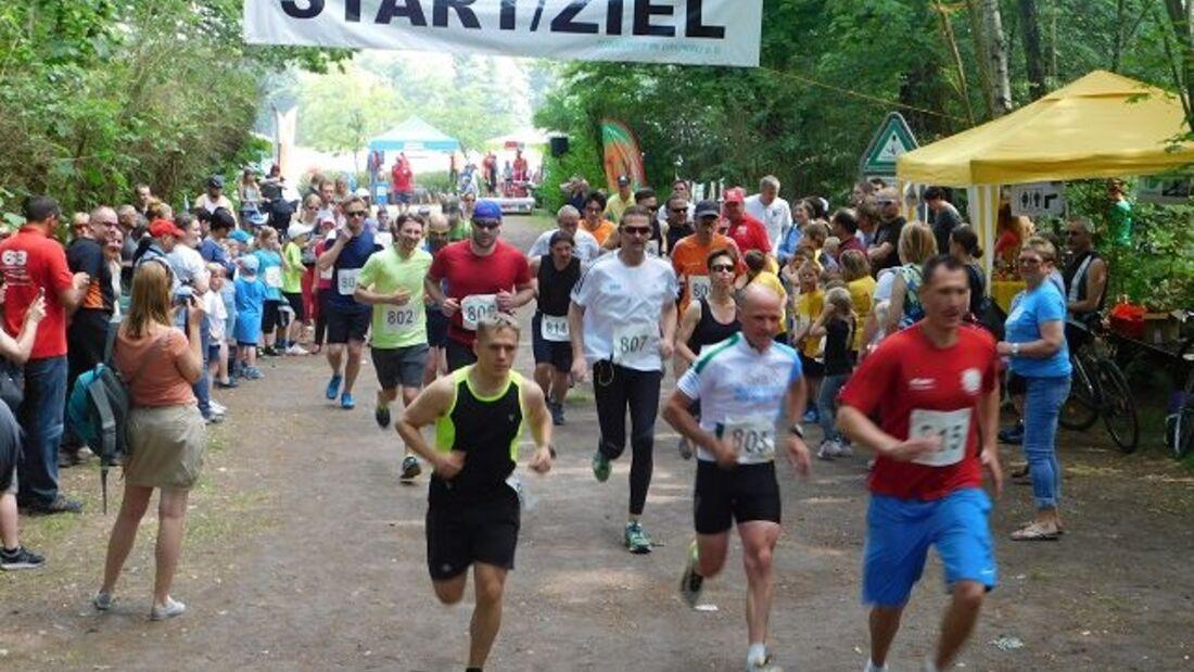 Start zum Uferbahnlauf in Berlin-Grünau