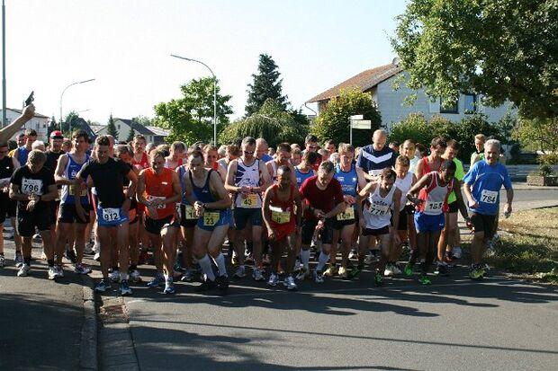 Start zum Wannkopflauf in Echzell
