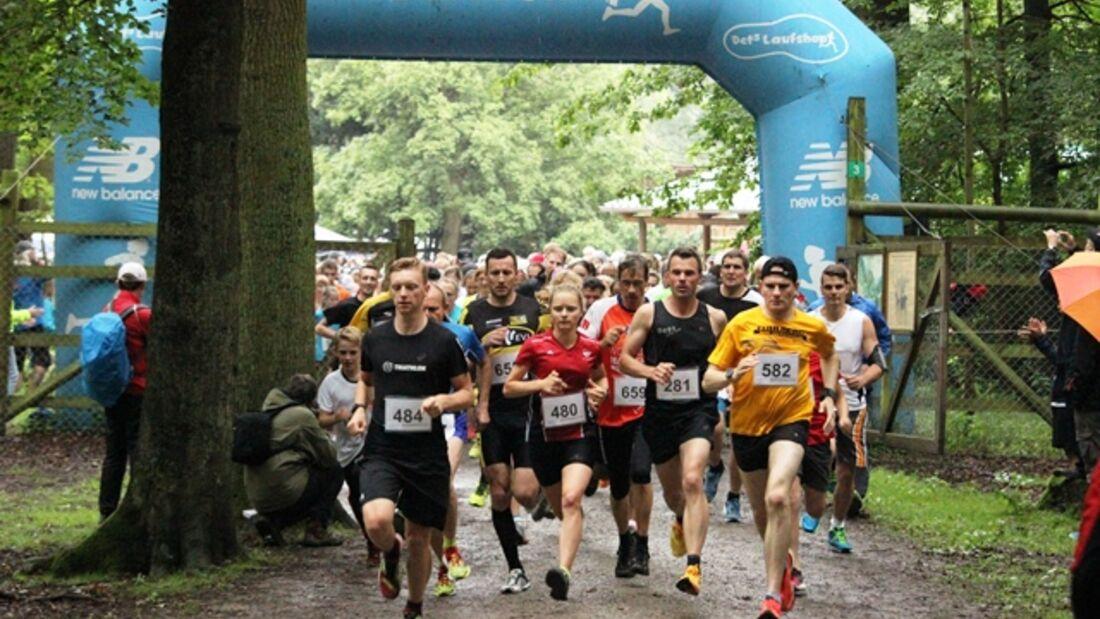 Start zum Wisent Run in Springe