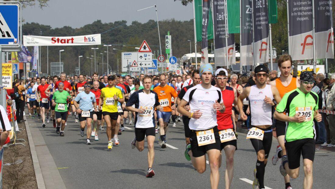 Start zum famila-Lauf in Oldenburg