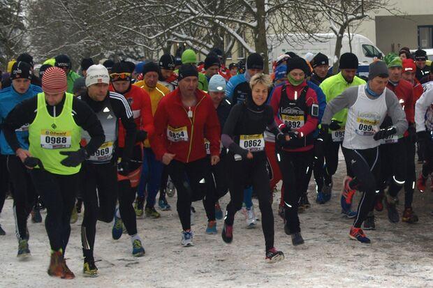 Start zur Winterlaufserie in Creuzburg