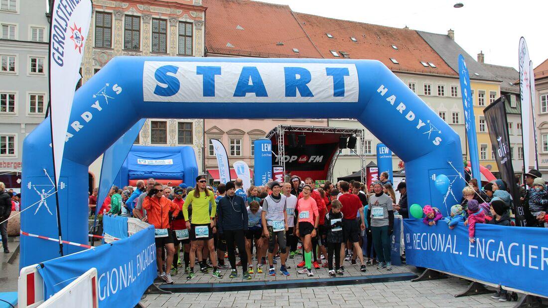 Startklar für den Landsberger Stadtlauf