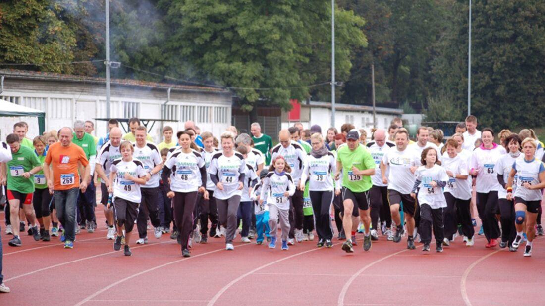 Startschuss zum Spendenlauf gegen Krebs in Leipzig