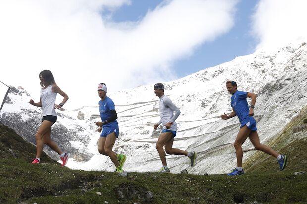 Stelvio Marathon am Stilfserjoch