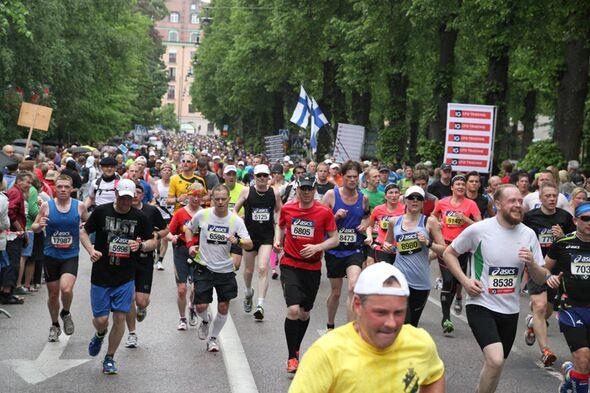 Stockholm-Marathon Stadt 2013