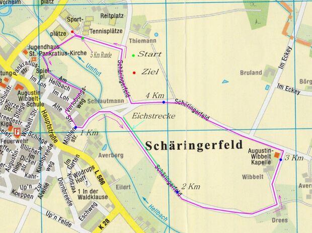 """Straßenlauf """"Rund um die Wibbeltkapelle"""" Ahlen 2"""