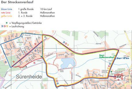 Strecke Verl
